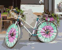 "Картина по номерам ""Велосипед для дамы"" (400х500 мм)"