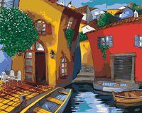 "Картина по номерам ""Мигель Фрейтас. Улочки Венеции"" (400х500 мм)"