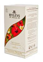 """Чай черный """"Hyleys. Гармония природы"""" (25 пакетиков; с шиповником и каркаде)"""