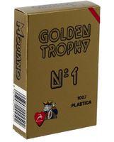 """Карты для покера """"Modiano Golden Trophy"""" (красная рубашка)"""
