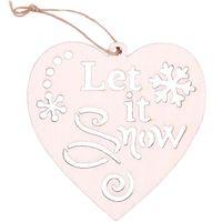 """Ёлочное украшение """"Let It Snow"""" (2 шт.)"""