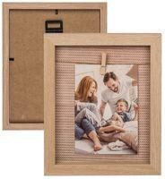 Фоторамка деревянная (19x23 см; арт. 94/2588)