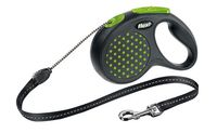 """Поводок-рулетка для собак """"Design"""" (зеленый, размер S, до 12 кг/5 м)"""