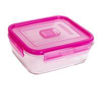 Контейнер для еды (1,22 л; розовый; арт. N0868)