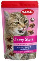 """Лакомство для кошек """"Tasty Stars Salmon"""" (40 г; лосось)"""