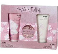 """Подарочный набор """"Aldo Vandini. Pure"""" (гель для душа, флюид для тела, мочалка)"""
