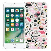 """Чехол для iPhone 7/8 Plus """"Суши-сет"""" (прозрачный)"""