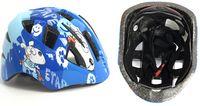 Шлем велосипедный детский (S; сине-белый; арт. IN11-1S)