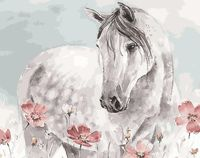 "Картина по номерам ""Лошадь"" (400х500 мм)"