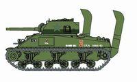 "Легкий танк ""Sherman M4 Normandy w/Deep Wading Kit"" (масштаб: 1/72)"