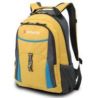 Рюкзак WENGER (22 литра, желтый/голубой/серый)