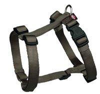 "Шлея для собак ""Premium H-harness"" (размер XS-S, 30-40 см, темно-серый, арт. 20326)"