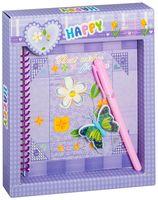 """Блокнот с замком и ручкой """"Darvish"""" (12,5x13 см; арт. DV-3480)"""