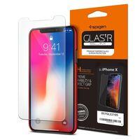 """Защитное стекло для Spigen iPhone X  """"Glas.tR SLIM"""" (1шт) (057GL22105)"""