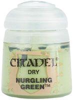 """Краска акриловая """"Citadel Dry"""" (nurgling green; 12 мл)"""