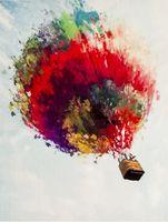 """Картина по номерам """"Полет на воздушном шаре"""" (400х500 мм)"""