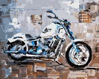 "Картина по номерам ""Мотоцикл"" (400х500 мм)"