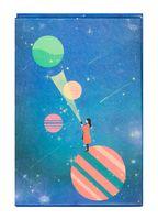 """Зеркало настольное """"Космос. Полосатая планета"""" (арт. KW006-000037)"""