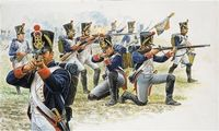 "Набор миниатюр ""Французская линейная пехота 1811"" (масштаб: 1/72)"