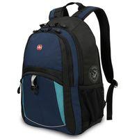 Рюкзак WENGER (22 литра, синий/черный/бирюзовый)