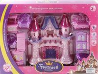 """Дом для кукол с набором мебели """"Замок"""" (арт. 665-1)"""