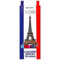 """Цветные карандаши """"Достопримечательности городов"""" (18 цветов; арт. DV-4800-18)"""