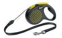 """Поводок-рулетка для собак """"Design"""" (желтый, размер M, до 20 кг/5 м)"""