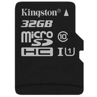 Карта памяти Kingston Canvas Select microSDHC 32GB (SDCS/32GBSP)