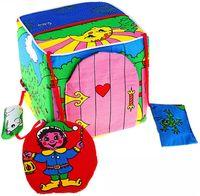 """Мягкая игрушка """"Развивающий кубик"""" (15 см)"""