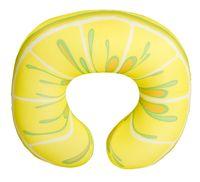 """Подушка под шею """"Фрукты. Лимон"""" (жёлтая; арт. Апш02фру02)"""
