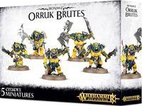 Warhammer Age of Sigmar. Ironjawz. Orruk Brutes (89-29)