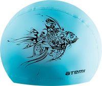 Шапочка для плавания PU 302 (голубая)