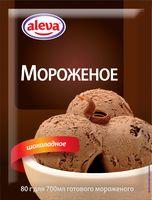 """Мороженое сухое """"Aleva. С ароматом шоколада"""" (75 г)"""