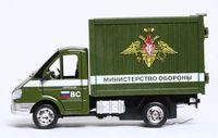 """Модель машины """"Газель. Министерство обороны"""" (масштаб: 1/43)"""