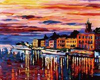 """Картина по номерам """"Озеро Комо. Белладжио"""" (400х500 мм)"""