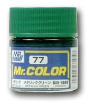 Краска Mr. Color (metallic green, C77)