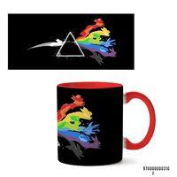 """Кружка """"Pink Floyd"""" (арт. 310, красная)"""