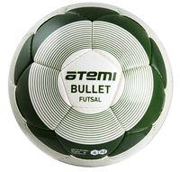 """Мяч футбольный Atemi """"Bullet Futsal"""" №4 (бело-зелёный)"""