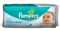 """Салфетки влажные детские """"Pampers Fresh Clean"""" (64 шт.; арт. 0001010644)"""