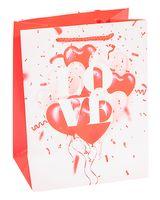 Пакет бумажный подарочный (23х18х10 см; арт. PK16010)