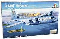 """Транспортный самолет """"C-130J Hercules"""" (масштаб: 1/72)"""