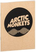 "Блокнот крафт ""Arctic Monkeys"" А5 (065)"