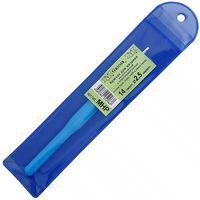 Крючок для вязания с пластиковой ручкой (металл; 2,5 мм)