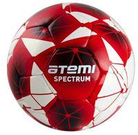 """Мяч футбольный Atemi """"Spectrum"""" №5 (бело-красный)"""