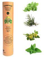 """Набор для выращивания растений """"Растущий карандаш. Салатный набор"""" (графитные; 8 шт.)"""