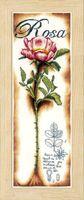 """Вышивка крестом """"Розовые розы"""" (200х630 мм)"""