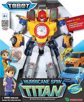 """Робот-трансформер """"Титан урагановый Спин"""""""