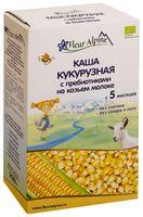 """Детская каша Fleur Alpine Organic """"Кукурузная с пребиотиками на козьем молоке"""" (200 г)"""