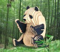 """Сборная деревянная модель """"Панда"""""""