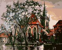 "Картина по номерам ""Осень в Праге"" (400х500 мм)"
